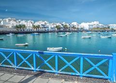 Lanzarote - Arrecife (madbesl) Tags: lanzarote arrecife elcharcodesangines hafen kanarischeinseln canaryislands boats boote olympus omd em10 m10 omdem10 zuiko1250 hdr