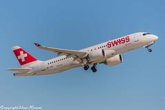 Swiss HB-JCG (A) (U. Heinze) Tags: aircraft airlines airways airplane planespotting plane flugzeug haj hannoverlangenhagenairporthaj eddv nikon