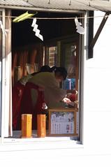 Shrine Life (runslikethewind83) Tags: japan asia newyear pentax lady woman dress girl shrine religion tokyo