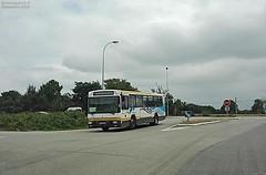 Renault PR 112 n°6285 (ChristopherSNCF56) Tags: bus autobus renault pr112 ctm sp3 scolaire service proximité ctrl transport urbains 6285 locmiquelic