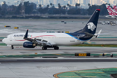 N342AM (rcspotting) Tags: n342am boeing 737800 aeromexico lax klax