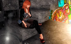 New Post ►627◄ VHW (Fadagitana Blindside (Virtual Hype Woman)) Tags: maitreya fabia spirit utopiadesign secretposes access thearcade fameshed fashgion blog sl secondlife women woman fashionblog avatar model hair virtualworld blogger 3d photo photography clothes new outfit bento meshbody mesh meshhead redheads top shorts shoes heels pose poses backdrop photoshop leggings