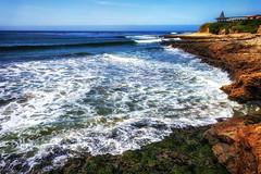 (Abel AP) Tags: ocean water cliffs coast pacificocean westcoast californiacoast landscape scenic naturalbridgesstatebeach santacruz california usa northerncalifornia abelalcantarphotography