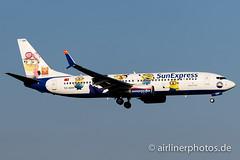 TC-SOH (Airlinerphotos.de) Tags: ams b737800 sunexpress
