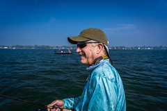 Dad 2018 - Fishing-7 (mmulliniks) Tags: dad fish fishing lake sunset sunrise landscape smallmouth bass michigan clouds water boat st clair largemouth nyc new city sky river beach ocean urban skyline central park golden hour blue sony a73 a7iii 24105 prime 85mm sigma tokina art metabones public people portrait street photography zeiss father vacation north triton mist haze