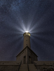 Light up the stars / Iluminando las estrellas (ampg69) Tags: punta nariga faro coruña nikon d750 1530 tamron night nocturnas galicia noche nikonflickraward ngc malpica faropuntanariga nikond750