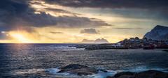 End of the Line (hpd-fotografy) Tags: arctic lofoten moskenesøya norway reine scandinavia cold fjord landscape light morning mountain north seascape sunset weather winter å