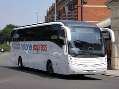 National Express (Travel De Courcey) Caetano Levante (Volvo B9R) MD28 FJ13 EBA (Alex S. Transport Photography) Tags: bus outdoor road vehicle traveldecourcey nationalexpress coach caetano levante volvob9r route212 md28 fj13eba