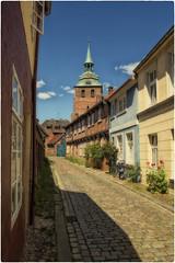 Altstadt Lüneburg (Heinze Detlef) Tags: altstadt lüneburg häuser pflaster giebel steinhaus strase