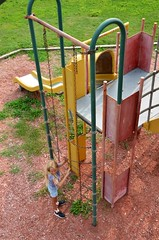 Violet In The Playground (Joe Shlabotnik) Tags: 2018 aroostook violet august2018 justviolet maine playground vanburen afsdxvrzoomnikkor18105mmf3556ged