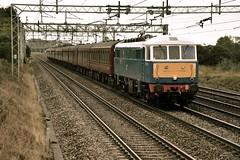 The Cathedrals Express (wwatfam) Tags: 86259 class 86 electric locomotive trains railways express passenger excursion chorlton crewe cheshire england britain wcml west coast main line