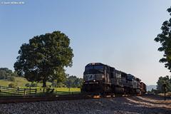 Sleepers Awake (nrvtrains) Tags: shawsville christiansburgdistrict coal blankenshiprd empty norfolksouthern 819 virginia unitedstates us