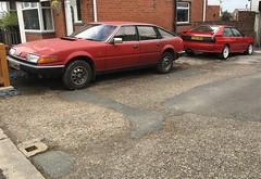 Rover 2300 SD1 & Audi Quattro (VAGDave) Tags: rover sd1 audi quattro 2300 1986 1987