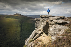 Bamford Edge (Camera_Shy.) Tags: bamford edge peak district climb hike hill walk landscape photography selfie weather uk derbyshire rocks gritstone win ladybower reservoir