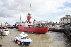 On Ha'penny Pier - Harwich (Neil Pulling) Tags: harbour harwich havenports essex eastanglia uk england eastcoast sea northsea lightship