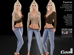 Gaall Equinox Outfit (Moon Allerhand) Tags: secondlife slfashion maitreya lara slink physique hourglass belleza venus isis freya tonic fine curvy
