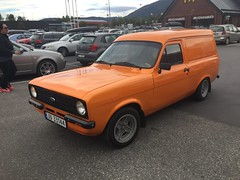 1976 Ford Escort van (Older and rare cars in Norway) Tags: ford escort panel van 1976 carspotting