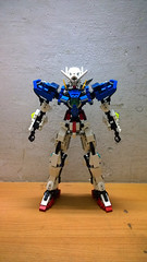 LEGO Gundam Exia GN-001 (demon1408) Tags: lego gundam exia 00 gn 01 seven swords setsuna celestial being figure mecha moc creation brick hero factory bionicle technic