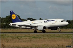Airbus A319-114, Lufthansa, D-AILU (OlivierBo35) Tags: spotting spotter nte nantes airbus lufthansa a319