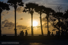 XOKA8683s2 (Phuketian.S) Tags: people silhouette sunset sea sky plam tree beauty girl woman peoples street road water andamansea indianocean nature evening babe cloud landscape