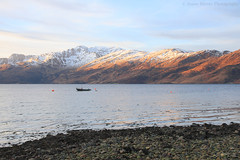 Oh What a Beautiful Morning! (Jonny Hirons) Tags: knoydart boat fishing fishingboat arnisdale glenelg remote tranquility