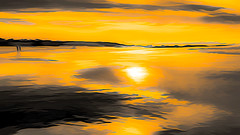 6574SET4TS Golden Sky, Golden sands (foxxyg2) Tags: sky sand gold asilomar asilomarbeach monterey montereypeninsula topaz topazsoftware topazstudio sun sunset california