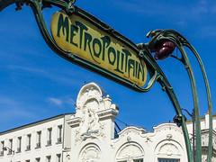 Metro1 (m.hunkin) Tags: paris france 2018 august metro metropolitan underground sign artnouveau hectorguimard architecture parismetrosign anvers monmartre pigalle