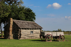 Little House on the Prairie Site - Independence, Kansas (BeerAndLoathing) Tags: summer 2017 roadtrip kansas 77d colorado trip independence canon eclipsetrip august usa unitedstates us canoneos77d