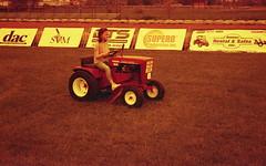 Sugar Creek OH garden tractor show (rentavet) Tags: analog redscale nikonfg nikkor50mm kodakhawkeyesurveillancefilm sugarcreekohio