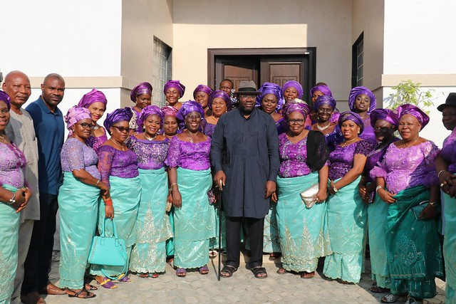 HSDickson- Condolence Visit to His Excellency By Sagbama Women. 25th August 2018