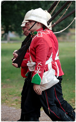 Military Odyssey 2018: Quick step - Left, right (pg tips2) Tags: military odyssey 2018 militaryodyssey2018 reenactors reenactment boerwar britisharmy enfields rifles marching