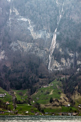 Waterfalls (Magryciak) Tags: europe 2018 switzerland travel trip holiday vacation canon eos mountain view landscape roadtrip winter snow altitude high peak walk hike cold lake sunset water