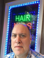 Day 2393: Day 203: Hair? (knoopie) Tags: 2018 july iphone picturemail doug knoop knoopie me selfportrait 365days 365daysyear7 year7 365more day2393 day203 hair