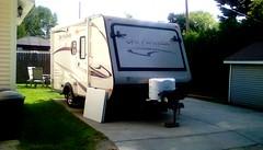 Travel trailer! (Maenette1) Tags: travel trailer camping neighborhood summertime menominee uppermichigan flicker365 allthingsmichigan absolutemichigan projectmichigan