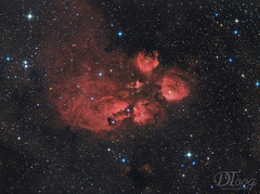 Cat's Paw Nebula - NGC 6334 (Delberson Tiago) Tags: astrophotography astronomy astrofoto astrofotografia astronomia astrophoto amateur telescope telescopio stars nasa nightsky nebulae nebulosa nebula qhy optolong oriontelescopes baader starfield skywatcher astrometrydotnet:id=nova2772728 astrometrydotnet:status=solved