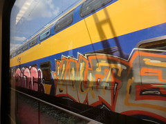 graffiti trein (remcovdk) Tags: treinen graffiti