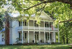 Victorian Home in Huntland, Tennessee (J Price - Alabama) Tags: americanwayoflife house victorian porches porch trimwork