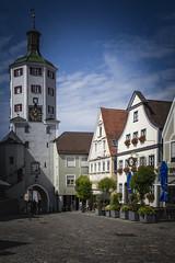 [5.Etappe] Güzburg (ponzoñosa) Tags: gz guzburg square main deustchland germany bike following day donau plate car