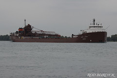 hcj82718_rb (rburdick27) Tags: interlakesteamshipcompany herbertcjackson freighter interlake stclairriver