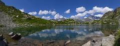 Panorama Pétarel - Alt 2090m (flotographe13) Tags: landscape waterscape panorama pétarel les écrins mountain lake water clouds sky blue nature