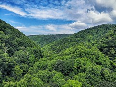 Cherokee National Forest Carter county Tennessee USA (Steve4343) Tags: steve4343 appalachian trail cherokee national forest red green blue yellow orange white clouds sky beautiful tennessee autumn beauty county lake watauga cloud colorful woods garden gardens happy leaves rocks wildlife landscape mountain tree trees grass water wood summer spring macro flower flowers at carter iron usa dji mavic air