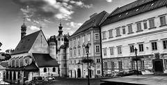 Banska Stiavnica (wernerfunk) Tags: slowakei blackwhite schwarzweiss unescoworldheritage