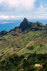 Anaga (López Pablo) Tags: cloud blue sea green house tenerife canary islands spain nikon d7200