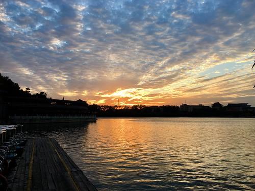 Bei Hai park sunset
