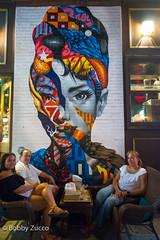 Cafe Roma Mulbery st NYC (ZUCCONY) Tags: 2018 nyc streetart negron ny jocelyn bobby zucco bobbyzucco art arte pedrozucco murals yesstreetart