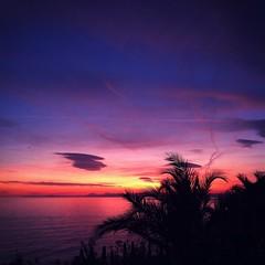Sunset - Côte d'azur (berengere-vuche) Tags: sunset cotedazur frenchriviera nice mediterranee sud landscape soleil