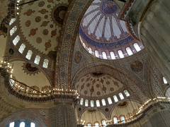 Inside The Blue Mosque (itchypaws) Tags: sultan ahmed ahmet mosque camii blue 2018 istanbul turkey europe holiday vacation