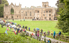 Leaders at Newstead Abbey (Twiglet Images) Tags: tour britain cycling nikon newstead abbey race racing bike bikes push d700