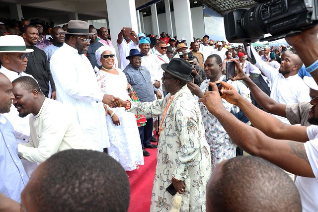 HSDickson- Bayelsa State PDP Mega Rally receiving APC, APGA and Other Decampees 08 September 2018