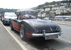 A Long Way From Home (occama) Tags: alongwayfromhome austin healey bn 100 big british sports car 1950s cornwall uk german visitor